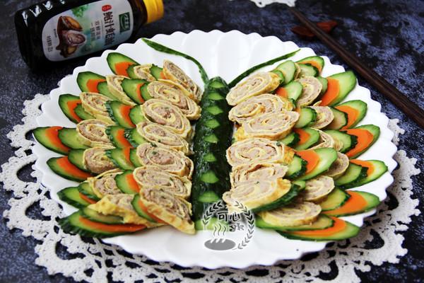 彩蝶飘飘---可以吃的年夜菜的做法