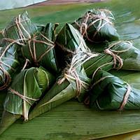 绿黍红花枣生粽的做法图解10