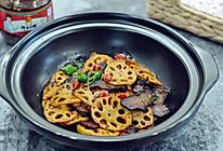 干锅藕片很好吃的做法