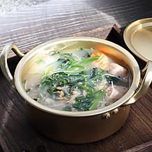 菠菜蛤蜊汤