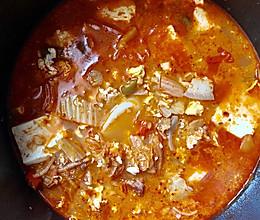 秋冬要喝汤—中韩合并泡菜汤的做法