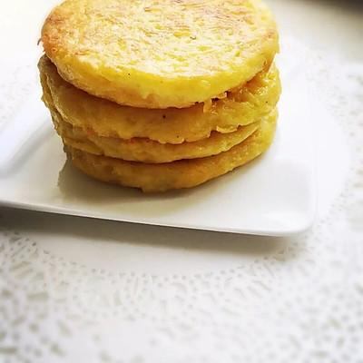 美味土豆丝早餐饼