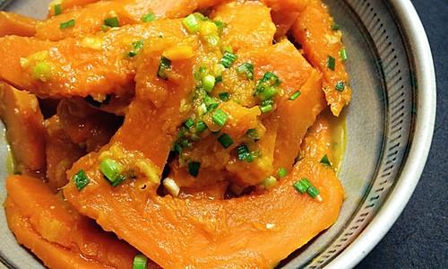 #梅太厨房#清炒南瓜的做法