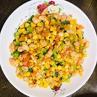 鲜甜可口的炒虾仁玉米的做法图解10