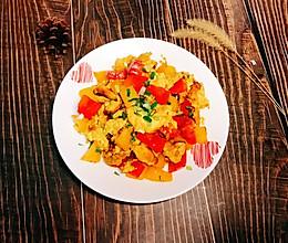 #我们约饭吧#彩椒炒鸡蛋的做法