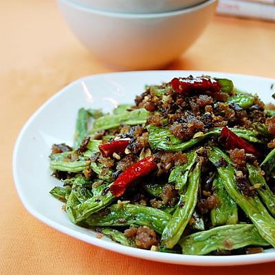 最上瘾的绝味川菜——干煸四季豆