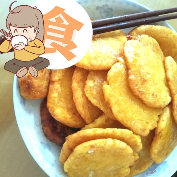 面粉版南瓜饼的做法