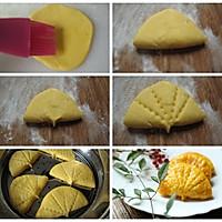 一只馒头的华丽转身之粗粮细吃【黄金荷叶饼】的做法图解3