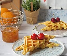 好吃到停不下来的最佳早餐组合淡奶油松饼机+桃子果酱的做法