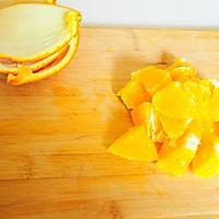 春季爽口凉菜--橙汁萝卜苗的做法图解3