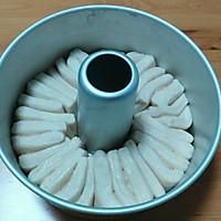 香浓炼乳手撕面包#有颜值的实力派#的做法图解13