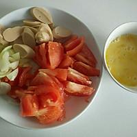 一个人的午餐——西红柿鸡蛋盖饭的做法图解1
