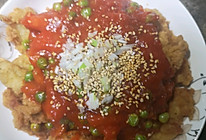 家庭茄汁龙利鱼的做法