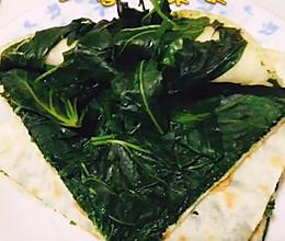 饼馍的华丽转身-红薯叶菜馍的做法