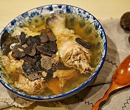 黑松露鸡汤的做法