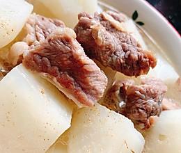 清炖牛肉萝卜的做法