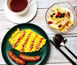 健康早餐套餐的做法