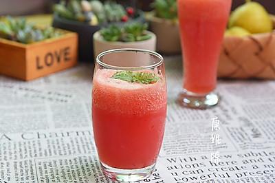 气泡西瓜汁