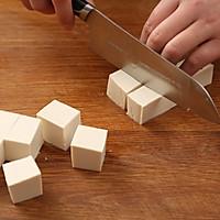肉末蒸豆腐的做法图解3