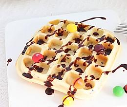 #元宵节美食大赏#黑芝麻奶香华夫饼︱松软香甜超好吃!