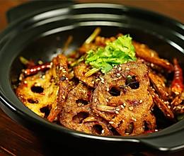 不管啥蔬菜,只要做成干锅,通通都能给你吃掉!——酱香干锅藕片的做法