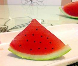 果冻西瓜,夏日必备的做法