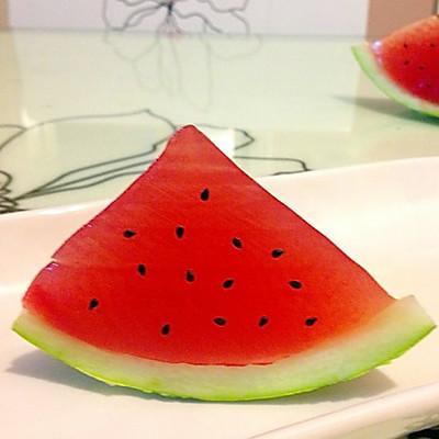 果冻西瓜,夏日必备