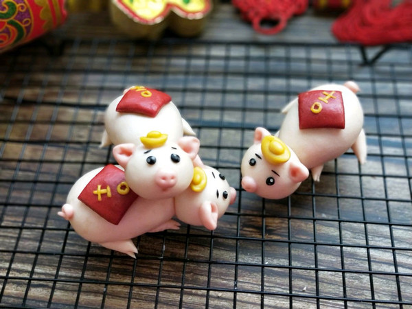 原创面食~吉祥小猪馒头的做法