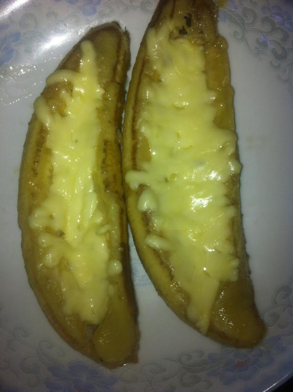 奶酪香蕉的做法