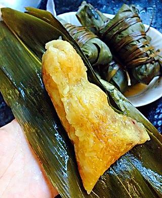 闹端午!碱水红豆粽(新手四角包法)