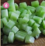 川香莴笋辣子鸡的做法图解6