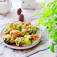 金蒜粉丝蒸西兰花-低脂健康好营养的做法图解20