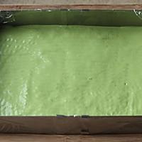 ~水玉抹茶夹心蛋糕卷~一抹清新绿的做法图解11