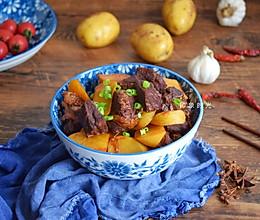 最馋这道肉香浓郁的土豆炖牛腩#春天肉菜这样吃#的做法