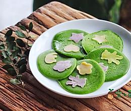 宝宝辅食:彩蔬菠菜饼的做法