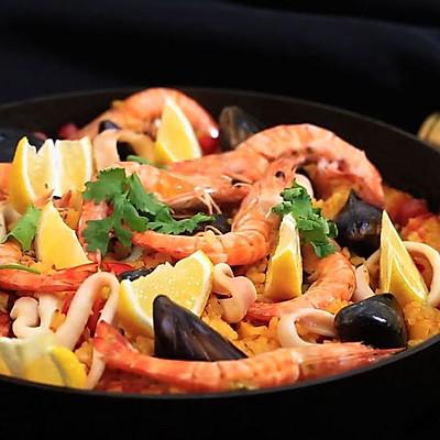 西班牙海鲜饭-迷迭香