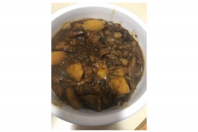 土豆炖茄子(酱茄子)