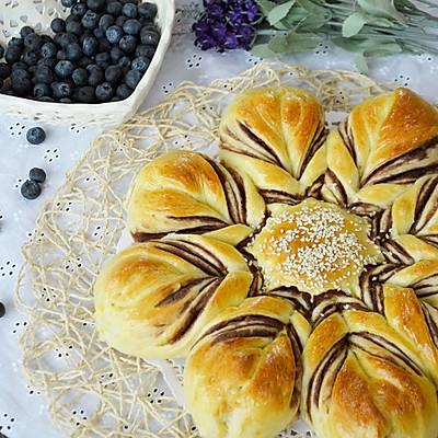 【太阳花面包】——送给父亲的一朵花