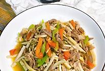 #百变鲜锋料理#杏鲍菇炒肉丝的做法