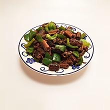 青椒炒黄鳝