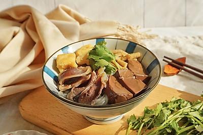 鸭血粉丝汤(附鸭腿清汤做法)