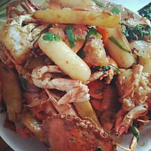 年糕炒螃蟹