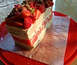 火爆~悉尼西瓜蛋糕的做法