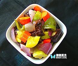 地中海烤时蔬的做法