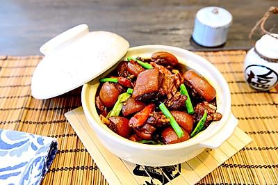 家常菜-私房黃燜羊肉煲