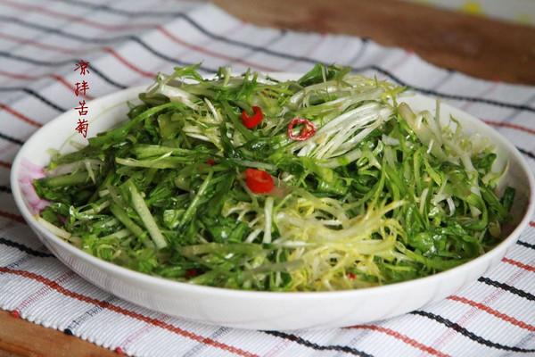 受欢迎年菜总结--凉拌苦菊的做法