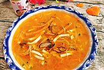 六菌白玉汤的做法