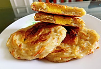 香喷喷又暄软的土豆丝鸡蛋饼的做法