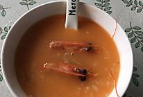 虾头粥的做法