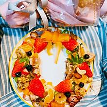 #圣诞限定美味#圣诞花环沙拉